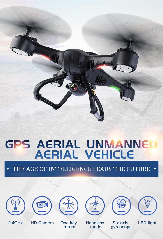 X191 Квадрокоптер 2,4 GHz 720 P HD Камера WI-FI FPV gps Fixed Point Drone Z322