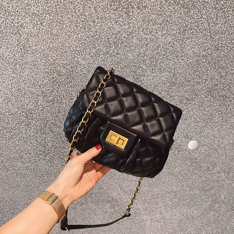 Chain Bag 2019 New Womens Bag Slung Small Bag Shoulder Fashion Saddle Gg BagChain Bag 2019 New Womens Bag Slung Small Bag Shoulder Fashion Saddle Gg Bag