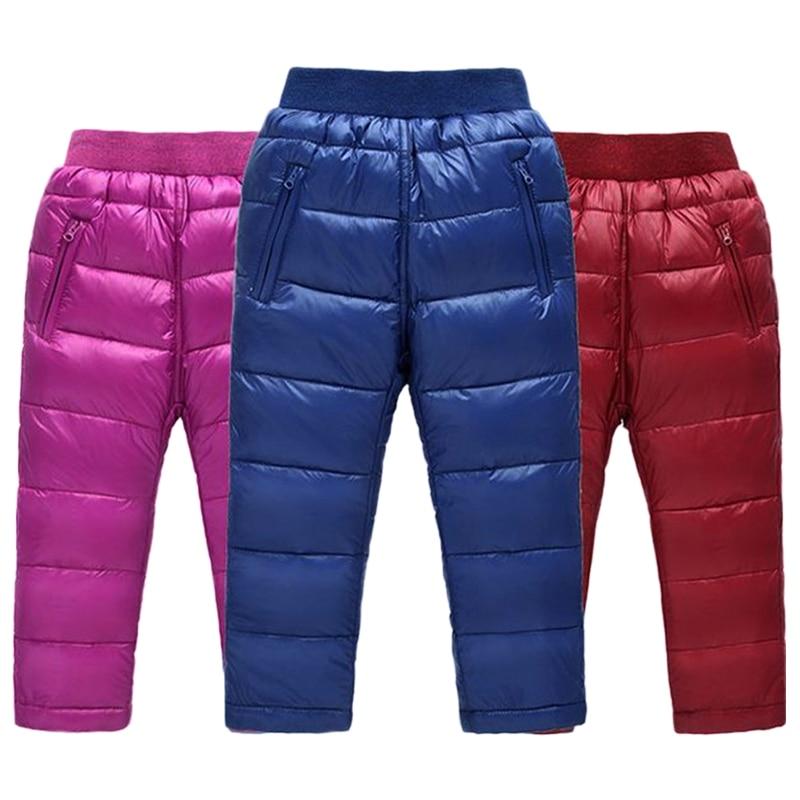 6394d4a727 fiúk lányok nadrág a lányok le nadrág téli gyerek ruhák gyerekek ...