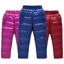 garçons filles pantalons pour les filles vers le bas pantalon hiver enfants vêtements enfants fille hiver vêtements garçons pantalons 2017