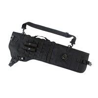 Tactical Shotgun Rifle Scabbard Holster Long Gun Protection Carrier Shoulder Sling Backpack