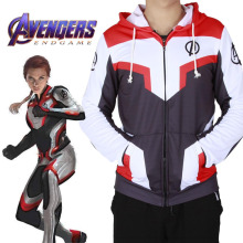 Adult Avengers Endgame Quantum Realm Sweatshirt Jacket Uniform 3D Print Advanced Tech Kids Costume Cosplay