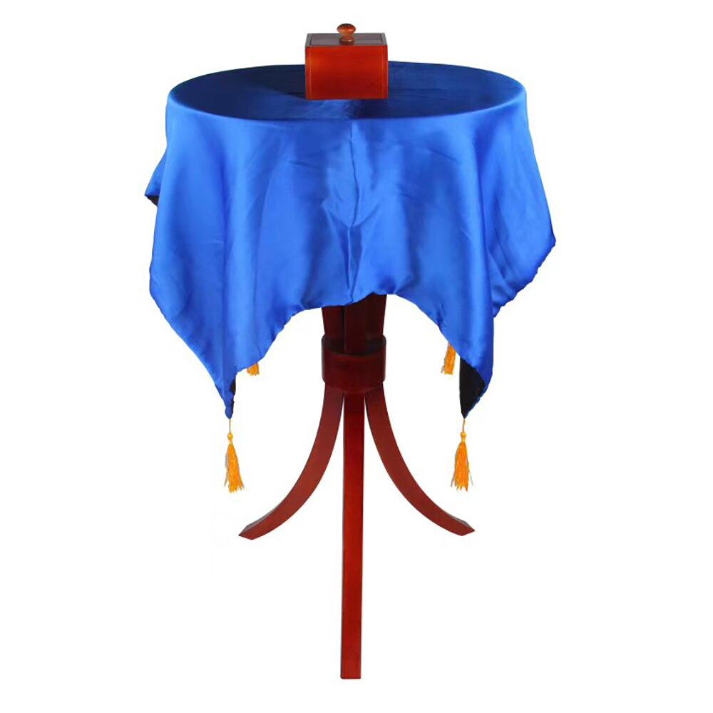 Delux Овальный троица Летающий стол с антигравитационной коробке ваза Волшебные трюки удивительный этап иллюзии трюк плавающий Fly Magia
