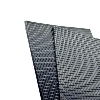 Modelo a escala de 5 uds material de construcción techos de láminas de PVC en tamaño 210x300mm para diseño de la arquitectura