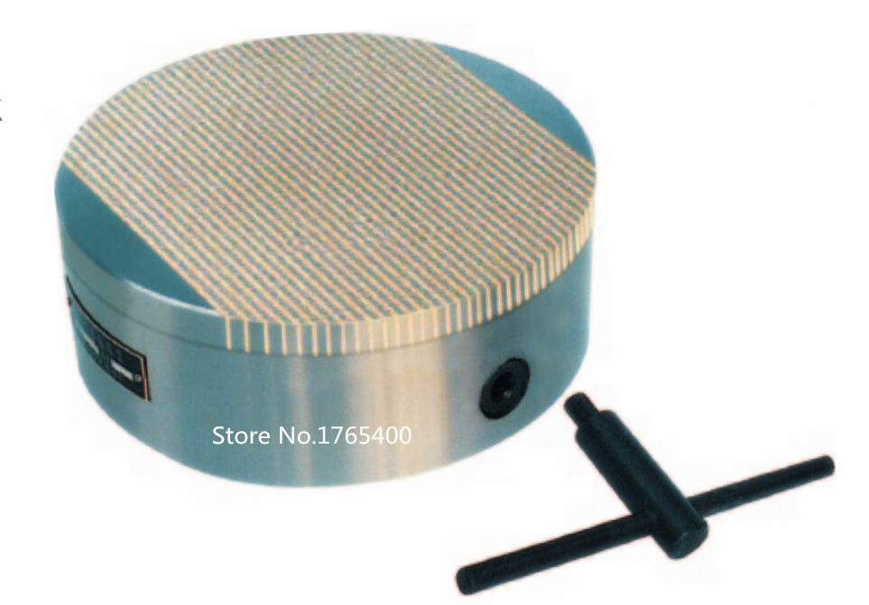 New Round dense pole Permanent Magnet Chuck Dimension 300 60mm 1 year quality guarantee