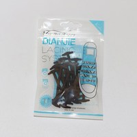 Elastic No Tie Shoe Laces For Business Men And Women Dress Shoes Leather Shoes Boots Silicone