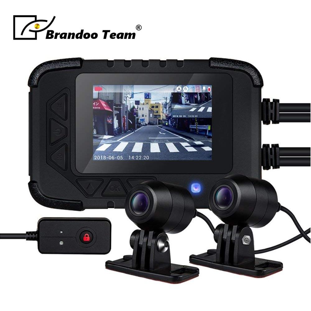 Мотоциклетная камера DVR Motor Dash Cam Dual track Front видеорегистратор с камерой на задней панели мотоциклетная Электроника, встроенный g сенсор