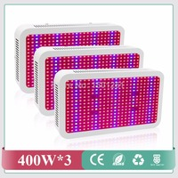3pcs Lot Wholesale 400W Led Grow Lights Panel SMD5730 Led Plant Lamps For Indoor Greenhouse