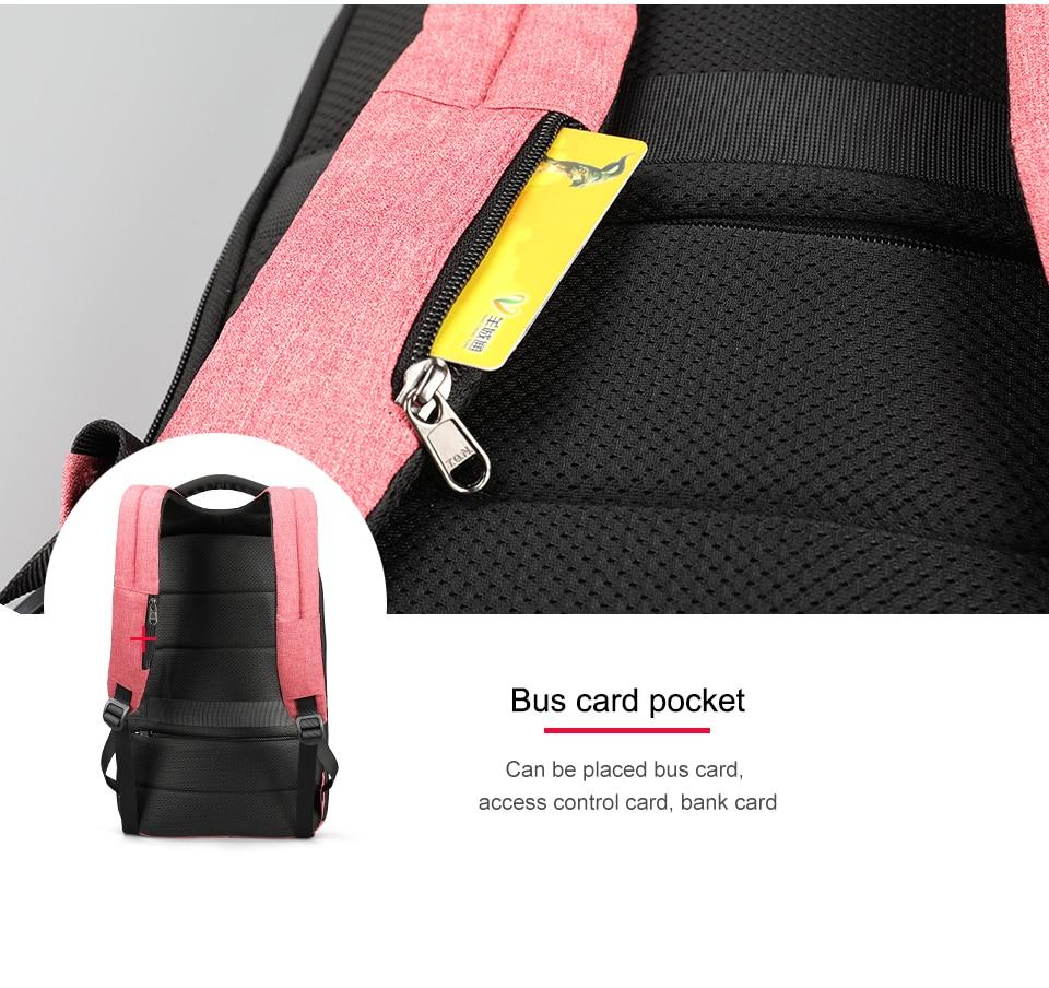 Tigernu Women Anti Theft TSA Lock female Laptop Backpack USB Charge School Bag for Teenager girls Feminine Backpacks Bagpack
