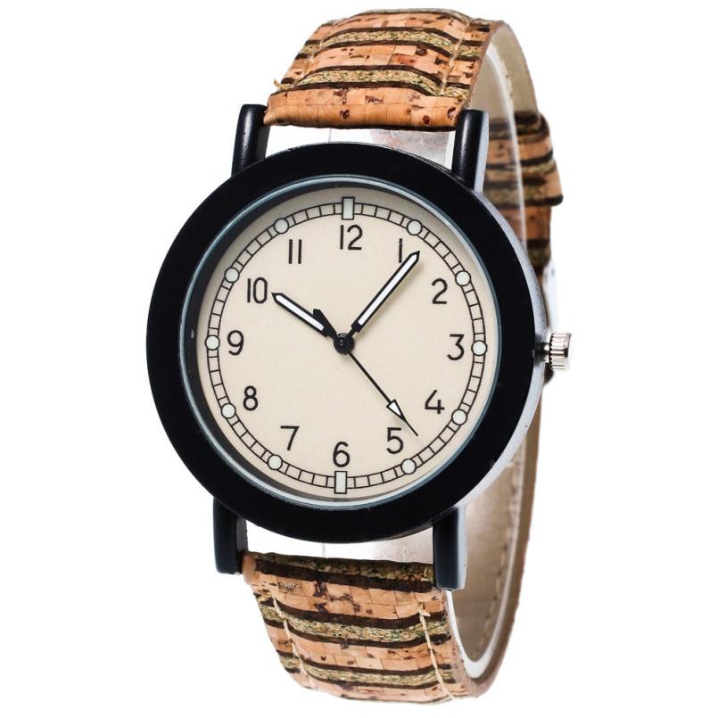 Excellent Quality Women Analog Quartz Watch Leather Wristwatch Reloj Mujer Round Case Time Clock Lady Gift Relogio Feminino