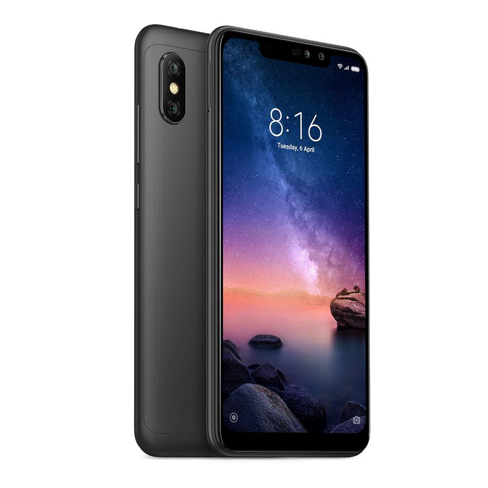 Legend Coupon Xiaomi-Note-Redmi-6-Pro-Global-Version-Black-Color-Black-Band-4G-LTE-WiFi-Dual-SIM Smart phone