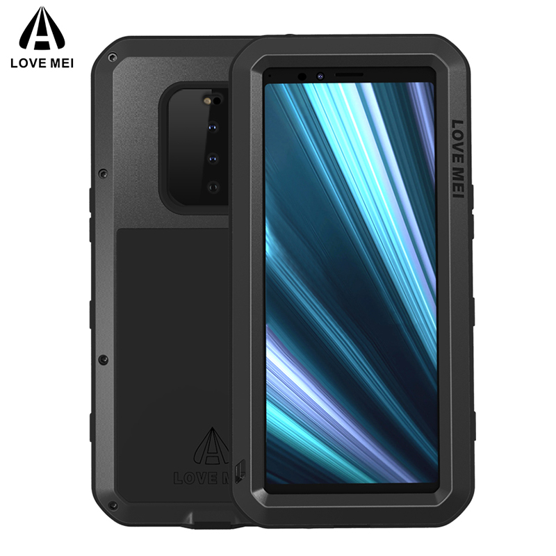 Metal Shockproof Case For Sony Xperia 1 10 Plus Armor Phone Cover For Sony Xperia 10 Plus Case For Sony Xperia 1 10 Rugged CoverMetal Shockproof Case For Sony Xperia 1 10 Plus Armor Phone Cover For Sony Xperia 10 Plus Case For Sony Xperia 1 10 Rugged Cover