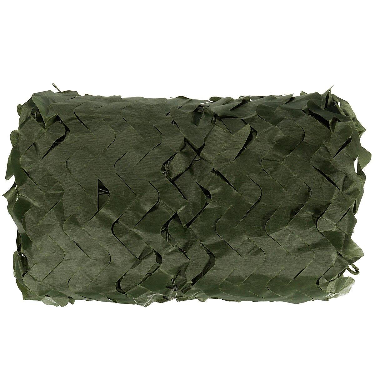 5 цветов Военная Униформа маскировочной 5x3 м Открытый камуфляж сетка для Охота покрытия Кемпинг Woodlands Листья Скрыть Солнечные укрытия автом...