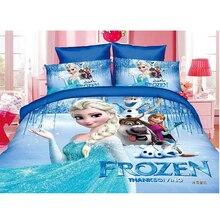 Disney Gefrorene Prinzessin Praxis Mädchen McQueen Auto Moana Bettwäsche Set kinder jungen Mädchen Bettbezug set Schlafzimmer Decor twin