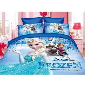 Image 1 - ディズニー冷凍王女練習女の子マックイーン車 moana 寝具セット子供の少年のガールズ布団カバーセット寝室デコレーションツイン