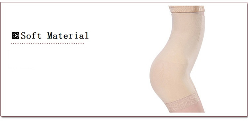 NINGMI Women High Waist Body Shaper Boy Short Panties tummy Belly Control Bodysuit Pant Shapewear Girdle Underwear Waist Trainer (5)