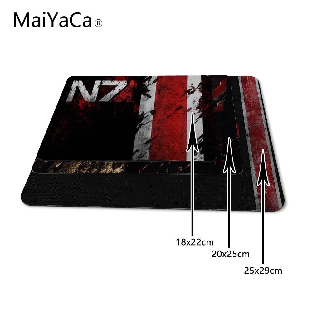 MaiYaCa Custom High Speed Nuevo Mass Effect N7 Logo del juego - Periféricos de la computadora - foto 2