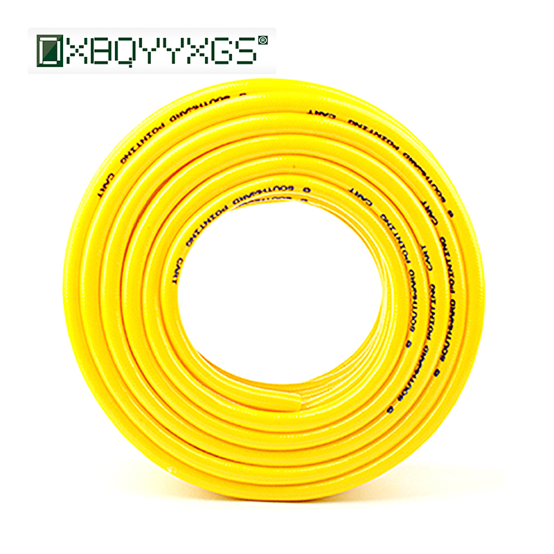 DXBQYYXGS 1/2 Inch PVC Hose High Pressure Antifreeze Explosion-proof Water Pipe Watering Irrigation Snakeskin Line Cashmere Hose