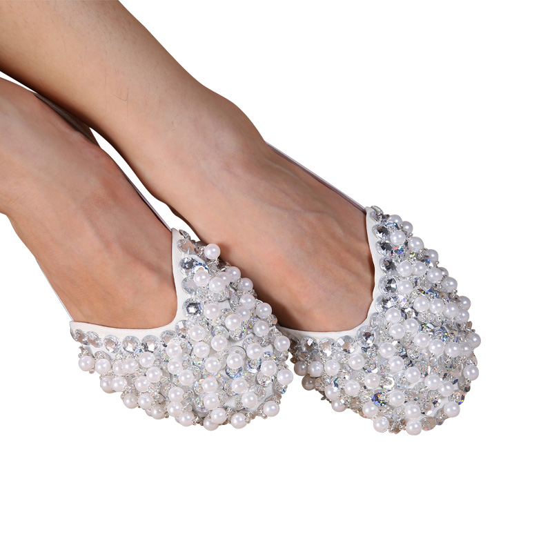 Belly/ Ballet Dance Shoes Beaded Shoes Half Belly Dance Shoes Kungfu Soft Gymnastics Dance Shoes 10 Colors