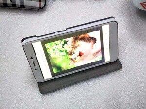 """Image 2 - Etui na Xiaomi Redmi 4X PU luksusowe biznes etui z klapką stojak na przypadku Xiaomi Redmi 4x Snapdragon 435 kartą trzymaj telefon pokrywa 5 """"ochraniacz"""