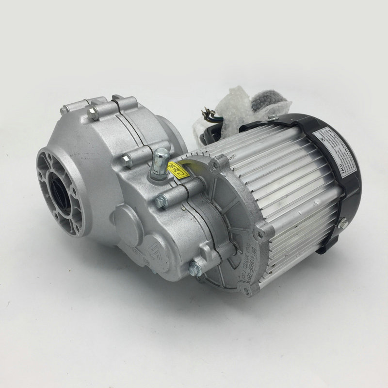 750W 48 60V Electric Vehicle Car Ebike Motor Kit BM1418HQF Differential Geared PermanentMagnet BLDC Tricycle Brushless