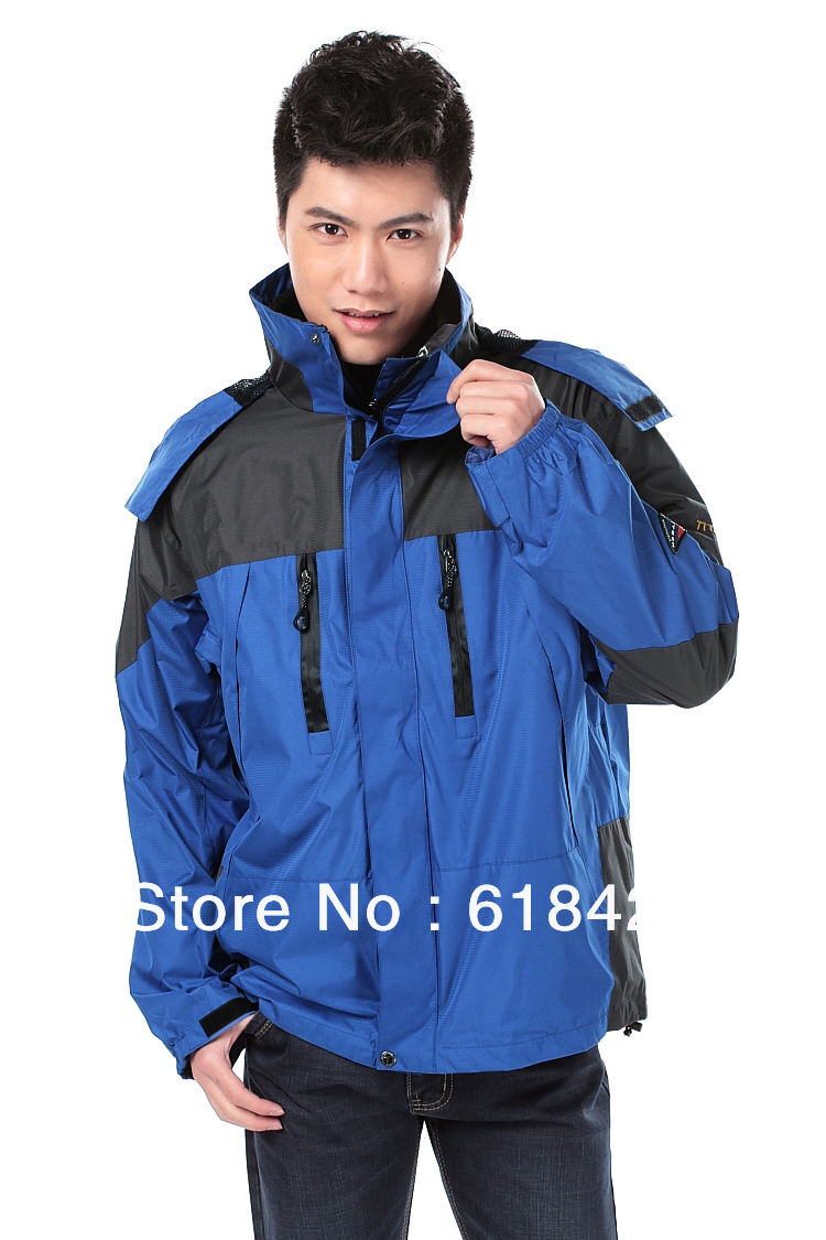 2 Layers Winter Jacket Mens Outdoor Wear Skiing Camping Hiking And Hunting Clothes For Men C010 In Jackets From Sports Entertainment On