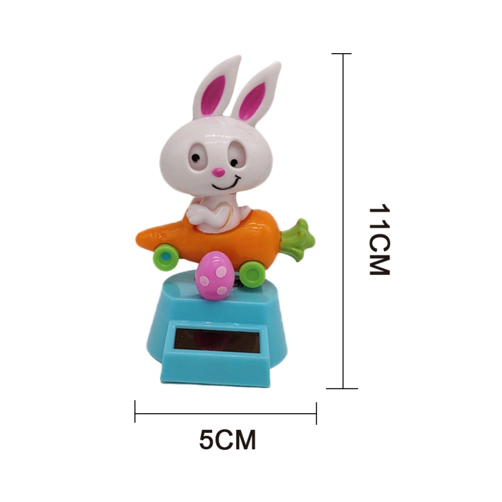 Arts & Crafts, Diy Toys Craft Toys Lovely Solar Power Creative Swing Childrens Room Decoration Little Girl Doll Car Decoration Childrens Toys Birthday Gift
