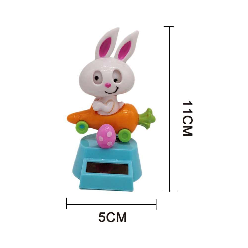 Solar Powered Dancing Animal Rabbit Dancing Toy Car Home Decoration Toy Gift