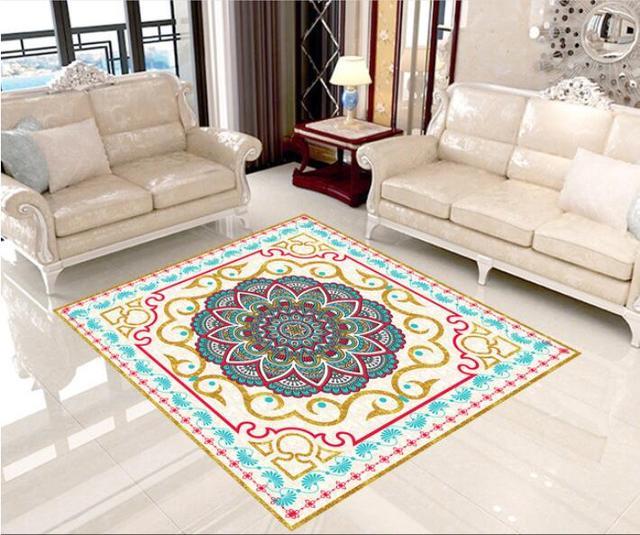 3 d pvc plancher personnalis tanche le tapis motif orthographe une fleur 3d salle de bains - Une Salle De Bain Orthographe