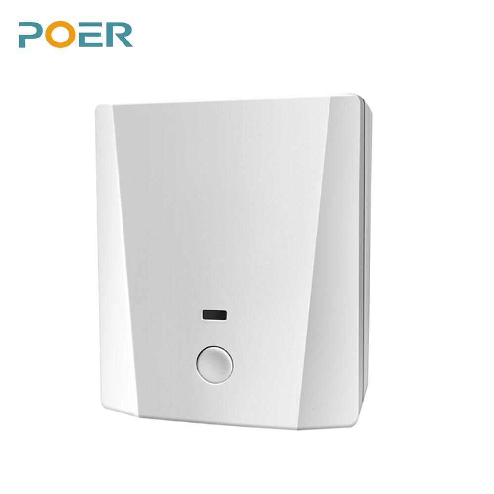 Belaidis kambario valdiklis Skaitmeninis wifi Termostatas namų - Matavimo prietaisai - Nuotrauka 3