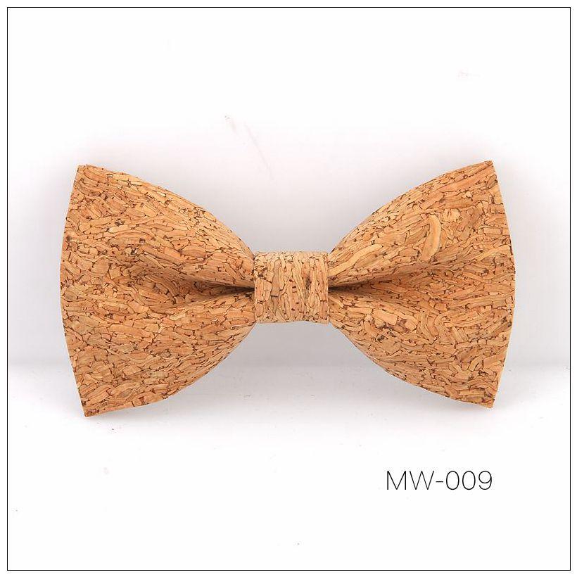 New Handmade Wooden Cork Bamboo Bow Tie Bowtie Men's Cravat 55