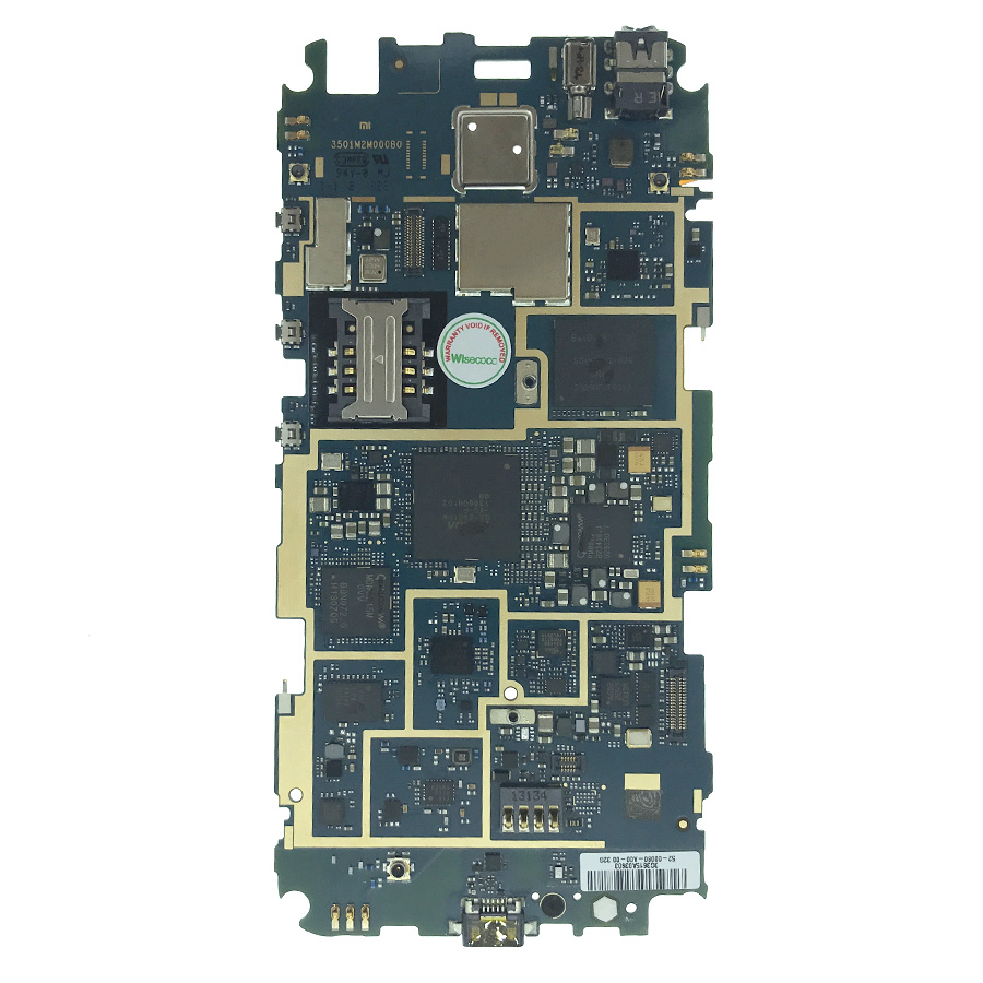 5PCS Working 16GB Board For Xiaomi Mi 2S M2S Mi2S WCDMA Motherboard Smartphone Repair Replacement With tracking number
