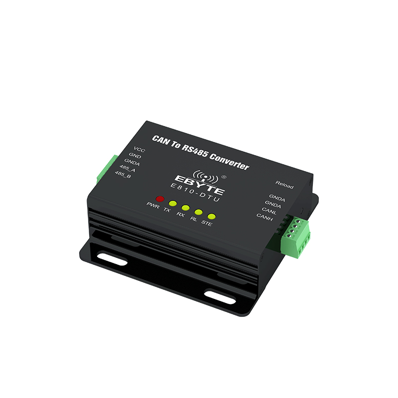 RS485 Interface CAN Bus Two Way Transparent Transmission Wireless Modem E810-DTU(CAN-RS485)