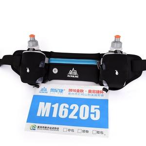 Image 4 - Aonijie E834マラソンジョギングサイクリング水分補給ベルトウエストヒップバッグポーチファニーパックパック電話250ミリリットル水ボトル