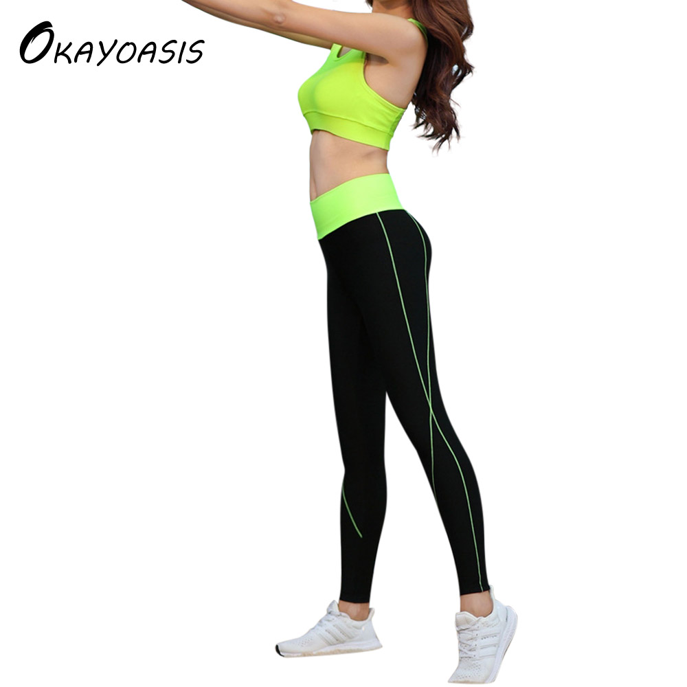 Free Shipping Women Pants Trousers For Ladies New Style Plain High Waist Fitness Elastic Leggings