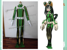 Anime My Hero Academia Asui Tsuyu Boku no Hero Academia Cosplay costume Customize