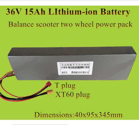 Gentle Long Size 36v 15ah Battery Lithium Ion Repalce 10ah 11ah 12ah 13ah For 2 Wheel Foldable Electric Scooter 300w 600w Motor E-bike Power Source Consumer Electronics