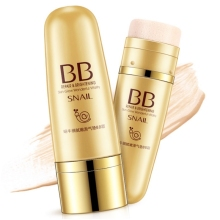 Snail Air Cushion BB Cream Delicate Tenderness Concealer Repair Moisturizing Skin Care Liquid Foundation,Easy Create Nude Makeup