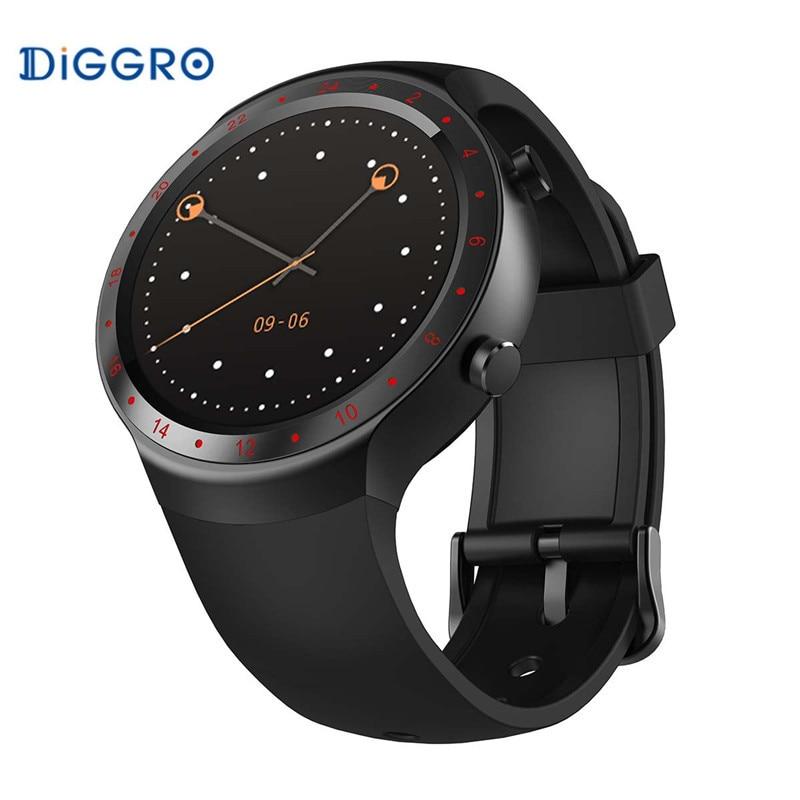 Android 5.1 Bluetooth 4.0 GPS Diggro DI07 Smart Watch RAM 512MB ROM SIM WIFI Heart Rate Monitor Call Message Healthy Reminder smart baby watch q60s детские часы с gps голубые
