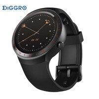 Android 5 1 Bluetooth 4 0 GPS Diggro DI07 Smart Watch RAM 512MB ROM SIM WIFI