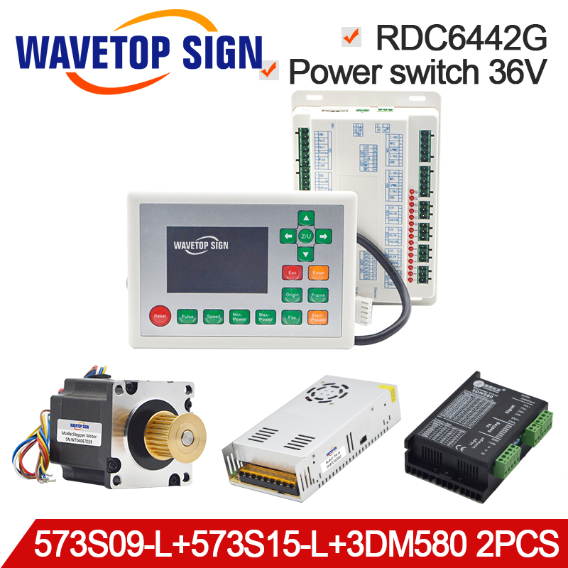 WaveTopSign Ruida RDC6442G CO2 Laser DSP Control System Set use for Laser Laser Engraving and Marking