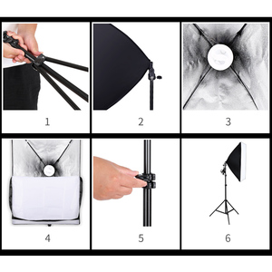 Image 5 - 2M x 3M Background Support System Softbox Umbrella Kit for Photo Studio Product,Portrait and Video Shoot Photography Lights