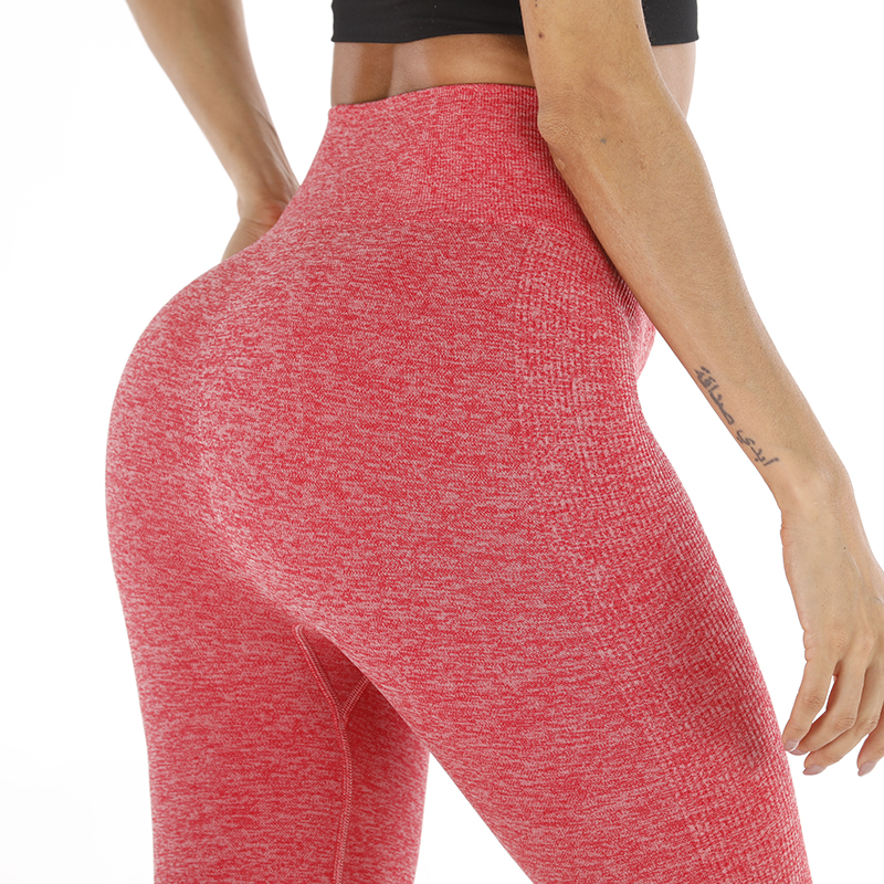 2019 Fashion Seamless Women's   Leggings   Ladies Athleisure Sweat Pants Jeggings High Waist Solid 10 Colors Fitness   Leggings