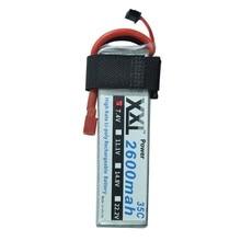 XXL 7.4 V 2 S 2600 Mah RC li-po batterie 35C Pour RC toys RC hélicoptère RC voiture