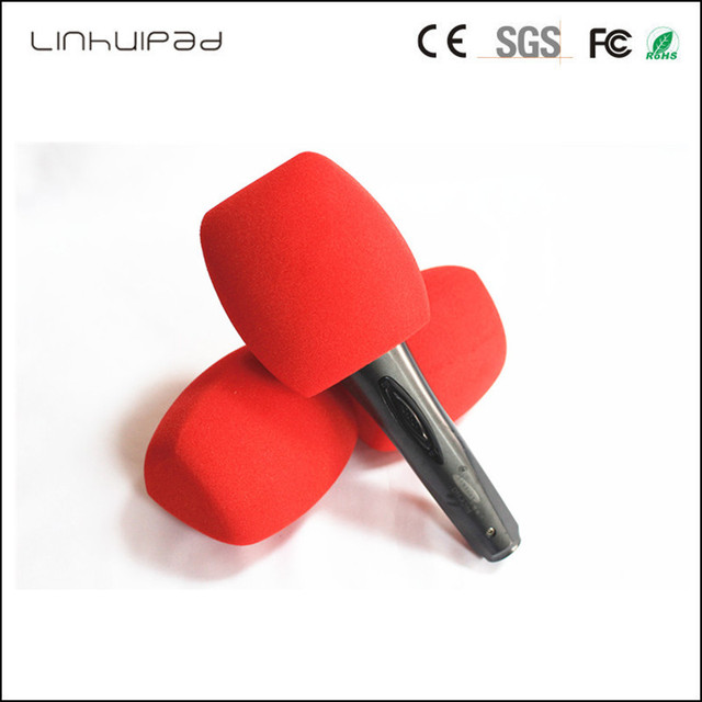 """Customize logo  triangle Interview microphone Windscreen Handheld windshield Inside Diameter: 4 CM (about .1.57"""") 3 Color"""