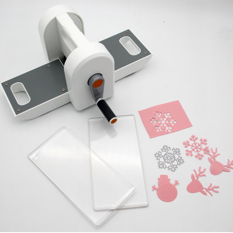 Diy scrapbooking die cutting embossing steel machine mini for Craft die cutting machine
