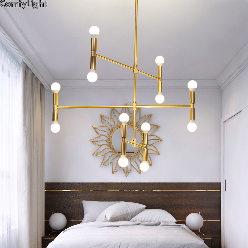 Nordic Ball Branching Bubble Pendant Chandeliers Lighting Dining
