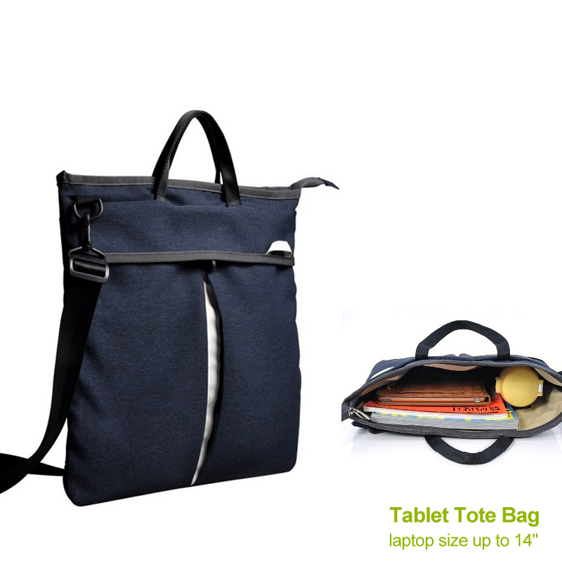 Canvas notebook bag 11.6 12.9 13 inch laptop bag tote ...