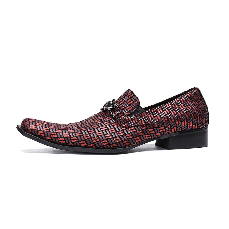 De Fiesta Cuero Vestido Hombres Para Formal {zorssar} Zapato Zapatos Estilista Moda Patente Transpirable Oxford Multiple Punta IBqUw
