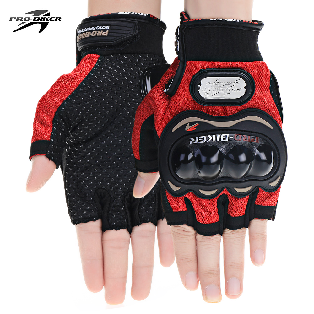 Univesal PROBIKER MCS - 04C Motorcycle Motorbike Powersports Anti-slip Racing Gloves